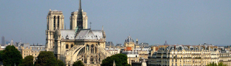 Ile de la Cité Notre Dame de Paris