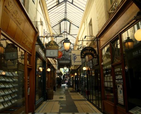 Passages couverts Paris Passage des Panoramas visite Un Guide à Paris