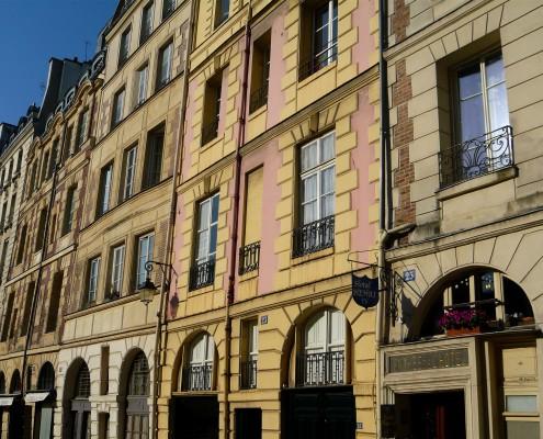 Ile de la Cite Paris Place Dauphine visite Un Guide à Paris