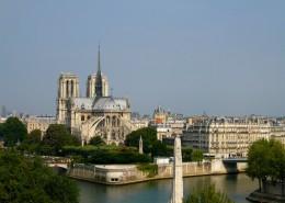 Première visite à Paris Notre Dame de Paris Ile de la Cité Ile saint Louis