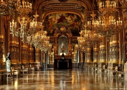 Opéra Paris Grand Foyer Palais Garnier