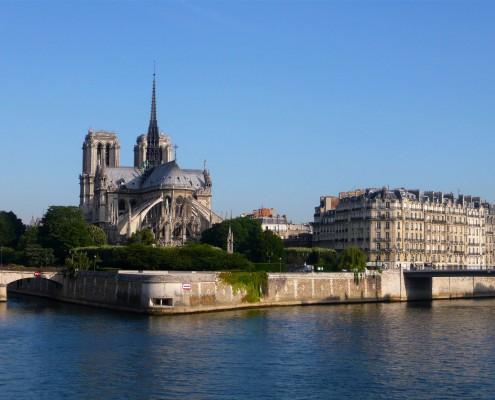 Ile de la Cité Notre Dame Paris