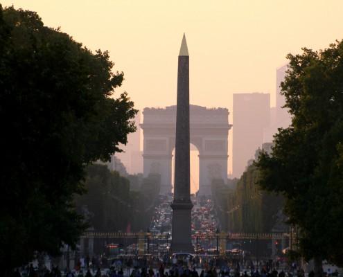 Arc de Triomphe Obélisque Concorde Paris