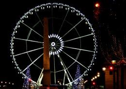 Visite Groupe Paris en bus Champs Elysées Place de la Concorde Grande Roue Illuminations Nöel