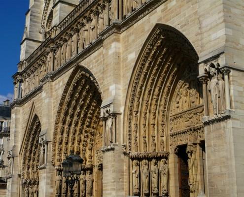 Ile de la Cité Cathédrale Notre-Dame de Paris