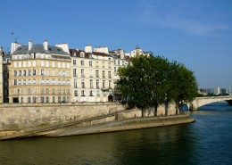 Les îles parisiennes Île Saint-Louis Quais de Seine Paris îles