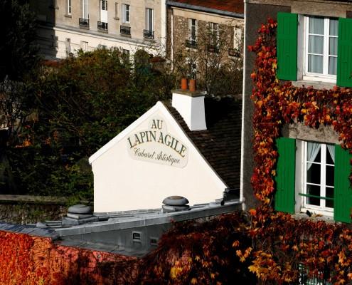 Musée de Montmartre cabaret du Lapin Agile