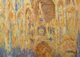 Musée Marmottan Monet Paris - Claude Monet - Cathédrale de Rouen effet de soleil fin de journée 1892