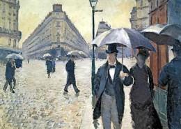 Musée Marmottan Monet Paris - Gustave Caillebotte - Temps de pluie 1877