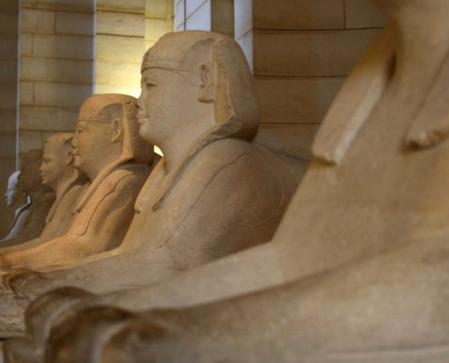 L'Égypte au musée du Louvre Egypte Louvre Musée du Louvre Antiquités égyptiennes Allée Sphinx