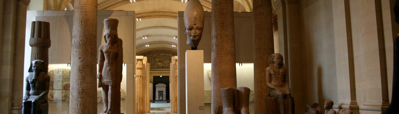 L'Égypte au musée du Louvre Egypte Louvre Antiquités égyptiennes Temple