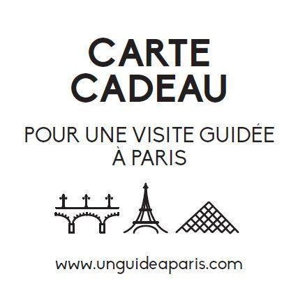Carte Cadeau Visite guidée Paris
