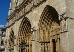 Ile de la Cité Notre Dame de Paris cathedrale notre dame de paris architecture gothique