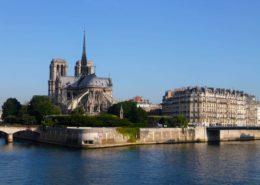 Ile de la Cité Notre Dame de Paris cathédrale notre dame de paris