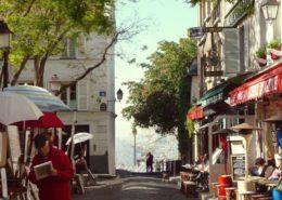 Montmartre Place du Tertre Paris visiter Montmartre village montmartre