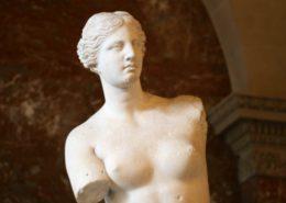 Musée du Louvre Venus de Milo chefs-d'oeuvre incontournables sculpture oeuvre d'art