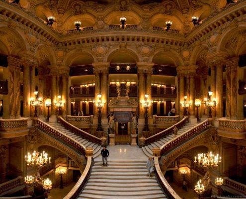 Opéra Garnier Palais Garnier Opéra de Paris Grand Escalier Charles Garnier