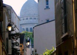 Montmartre Butte Montmartre Basilique du Sacré Coeur Rue Saint Rustique Visiter Montmartre