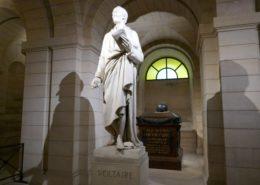 Panthéon Paris Crypte Grands Hommes Voltaire