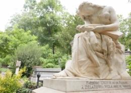 Cimetière du Père Lachaise tombe Frédéric Chopin