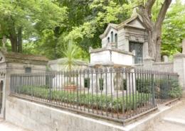 Tombes Molière et La Fontaine Paris
