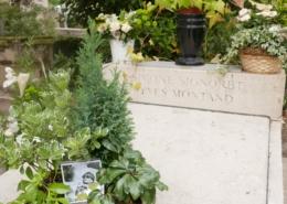Pere Lachaise Montand et Signoret