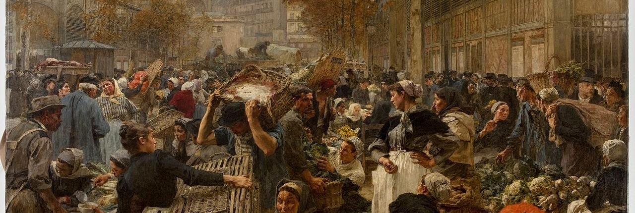 Les Halles Paris marché