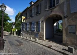 Ateliers artistes rue Cortot musée Montmartre