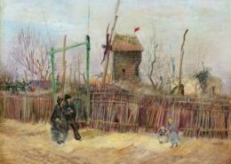 Vincent Van Gogh Scène de rue à Montmartre 1887