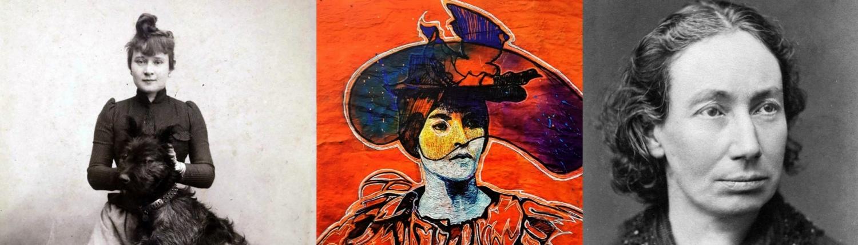 Femmes de Montmartre Louise Weber Suzanne Valadon Louise Michel