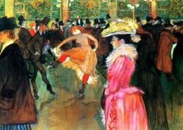 Danse au Moulin Rouge La Goulue