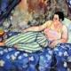 Femmes de Montmartre Suzanne Valadon La chambre bleue 1923