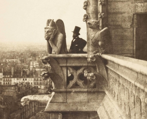 Notre Dame de Paris chimere stryge